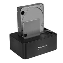 Sharkoon QuickPort Duo Clone USB 3.1 Type C Docking Station